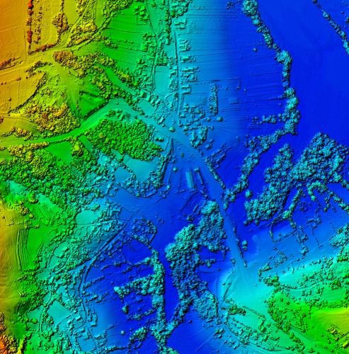Geospatial image