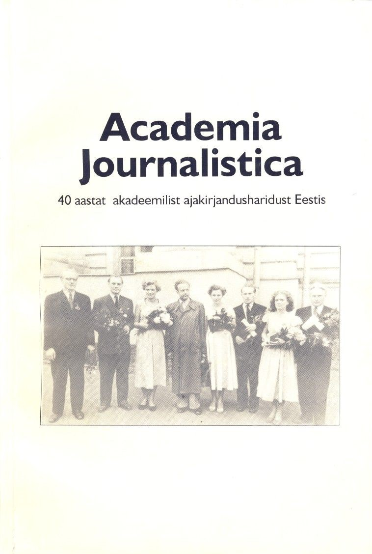 Academia Journalistica kaanepilt