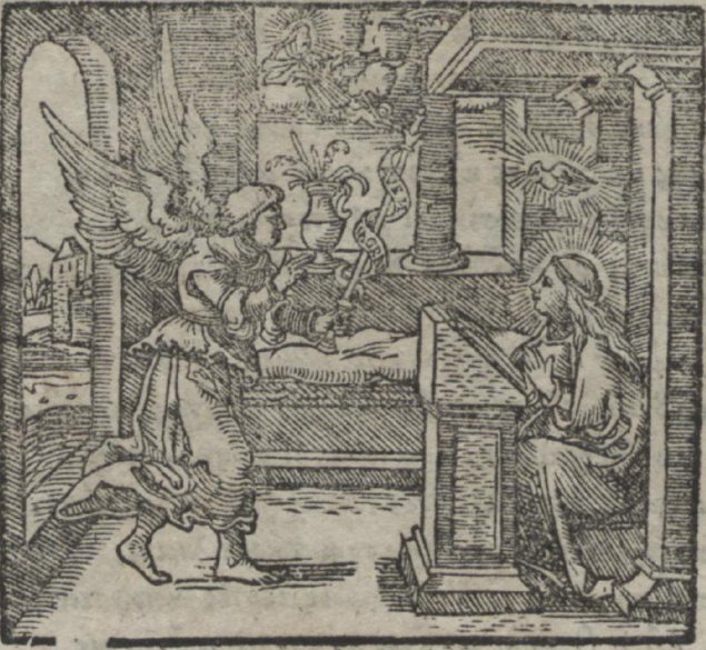 Niels Lauridsen, Ἄσμα τῆς Μαρίας τῆς Ἁγίας Παρθένου, 1575