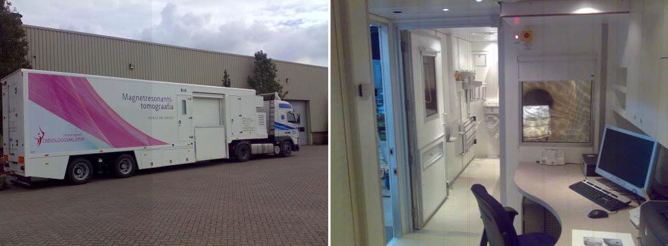 OÜ Mammograafi poolt kasutatav mobiilne labor väljast- ja seestpoolt (OÜ Mammograaf).