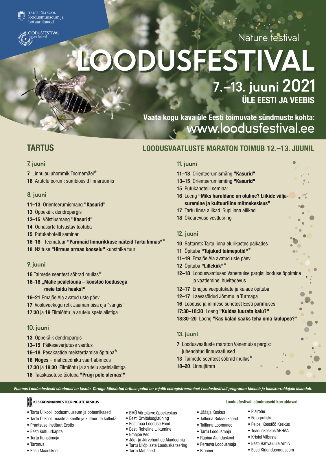 Loodusfestivali programm