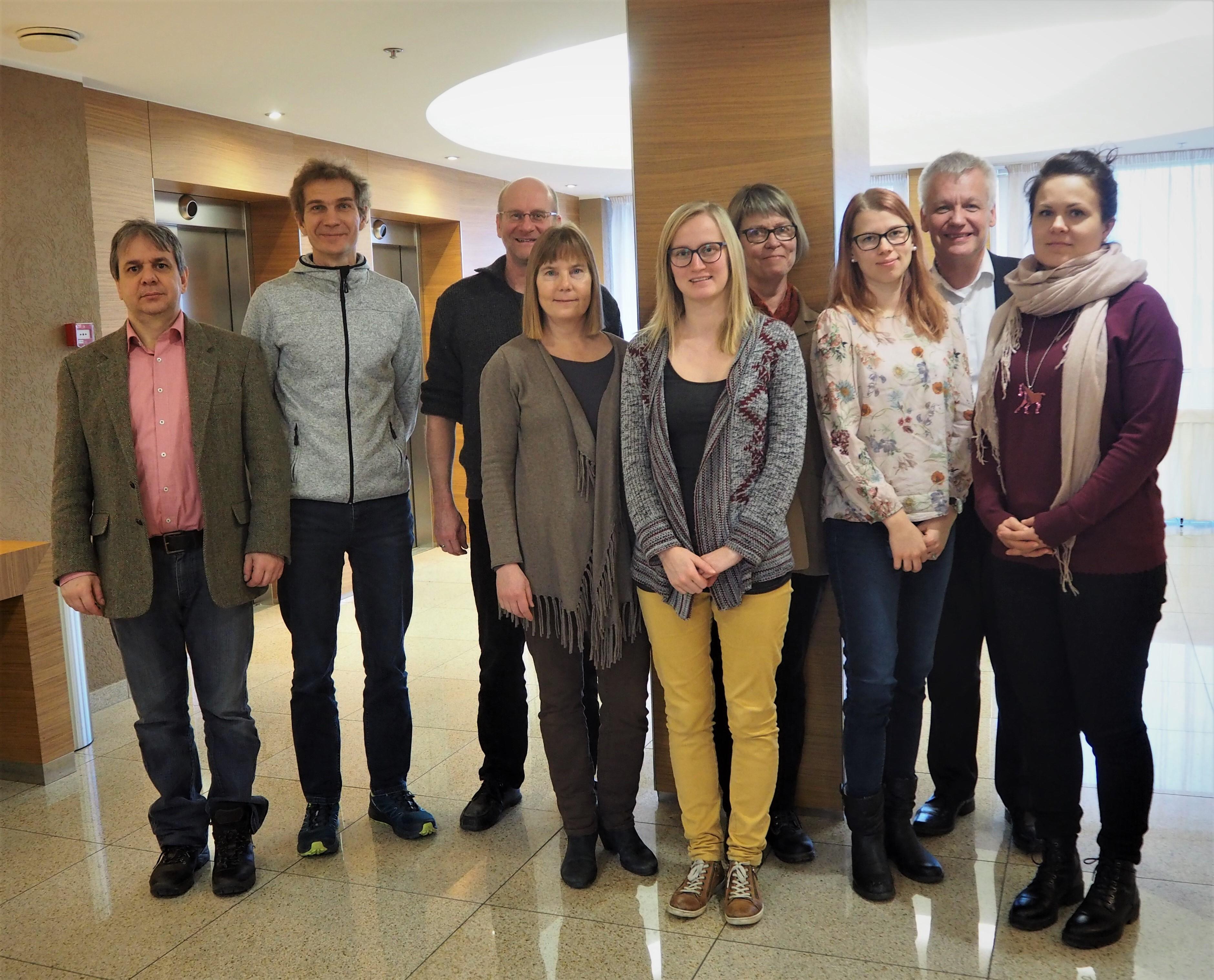 The Bonus Mares team in a meeting in Tallinn in 25.-26.2.2019