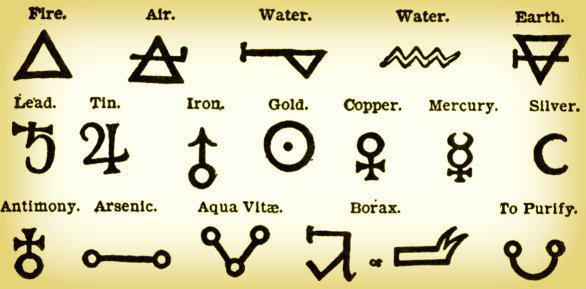 Alkeemia kasutab ohtralt sümbolite keelt