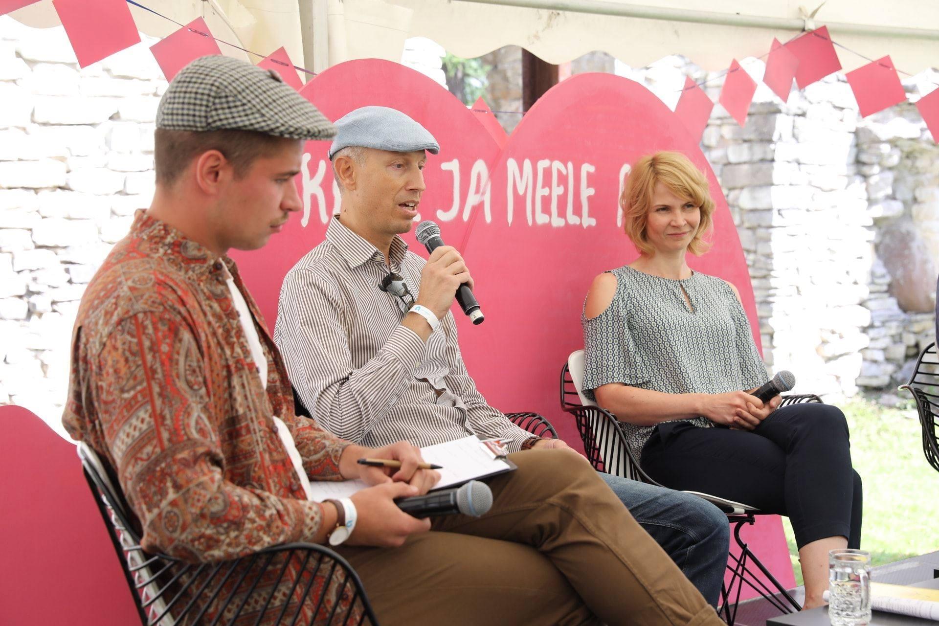 Pildil (vasakult): Fred Gregor Rahuoja, Illimar Ploom, Eva Piirimäe