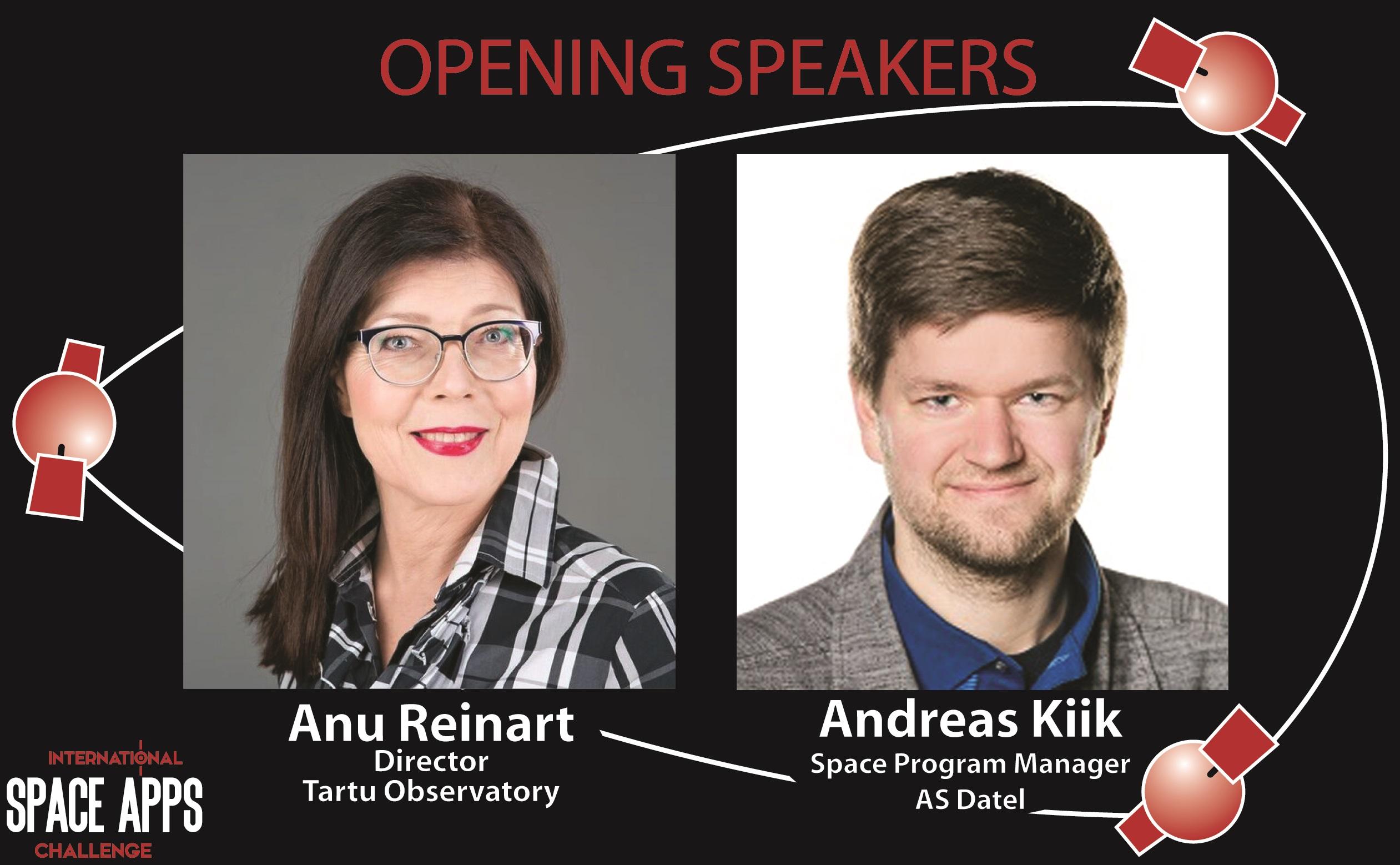 Opening Speakers