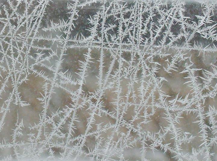 Jäälilled aknaklaasil (Morguefile.com)
