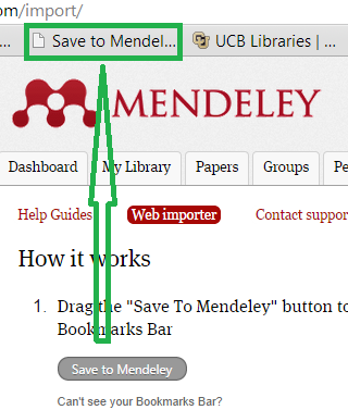 import to mendeley