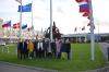 Ühispilt NATO peakorteri ees