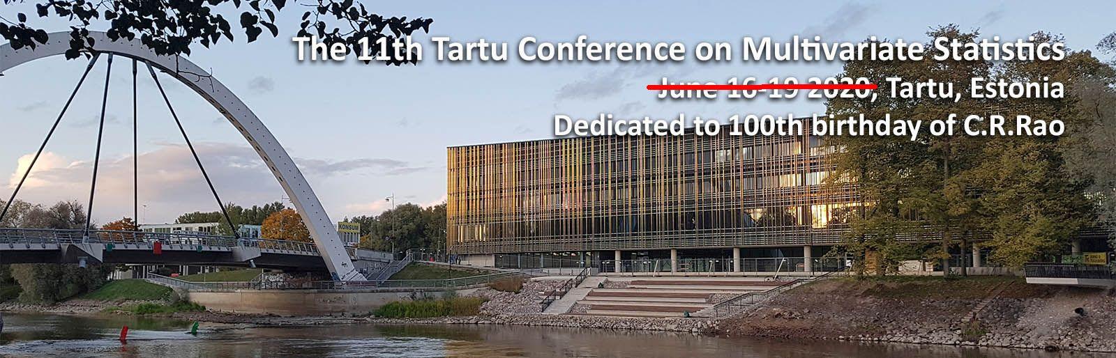 Tartu Multivariate Conference Banner