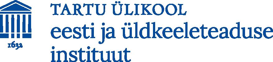 TÜ eesti ja üldkeeleteaduse instituudi logo