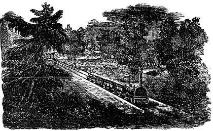 Rongi pilt aururongi tutvustavast jutust Pärnu Postimehes (5. juuni 1857)